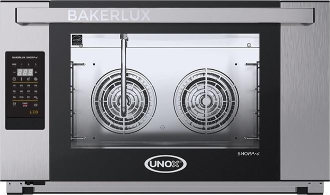 Печь пароконвекционная пекарская UNOX XEFT03EUELDV 600х400мм (Италия)