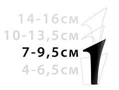 Каблук женский 7-9.5 см