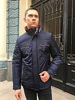 Куртка ветровка мужская весна осень на синтепоне молодежная спортивная классика