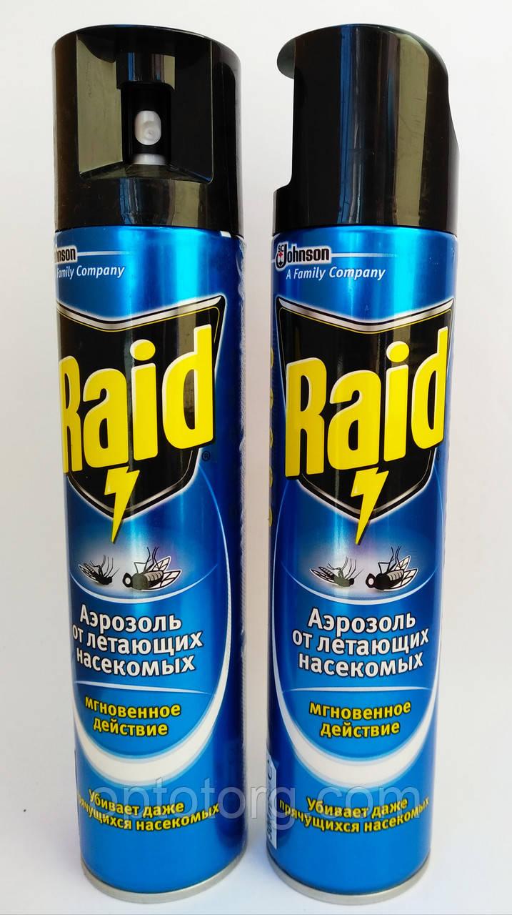Рейд аэрозоль от летающих насекомых 300 мл оригинал качество
