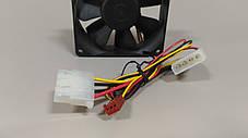 Вентилятор, кулер 80х80 для корпуса 3-pin/molex, фото 2