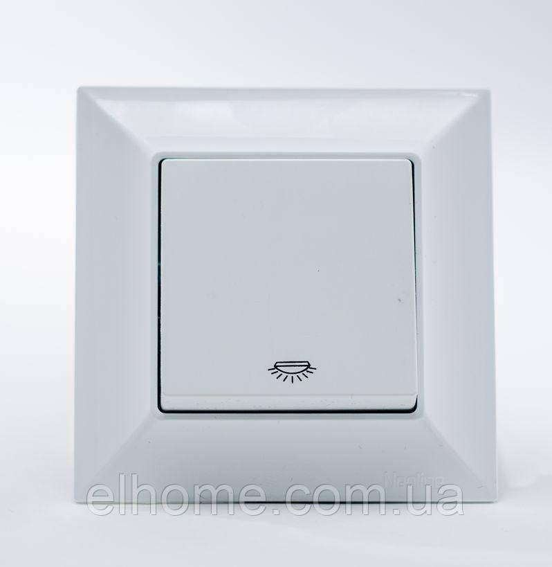 Кнопка контролю освітлення Gunsan Neoline  біла