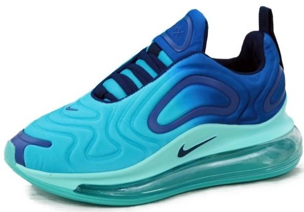 Мужские кроссовки Nike Air Max 720 'Blue' (Premium-class) синие