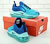 Мужские кроссовки Nike Air Max 720 'Blue' (Premium-class) синие, фото 4
