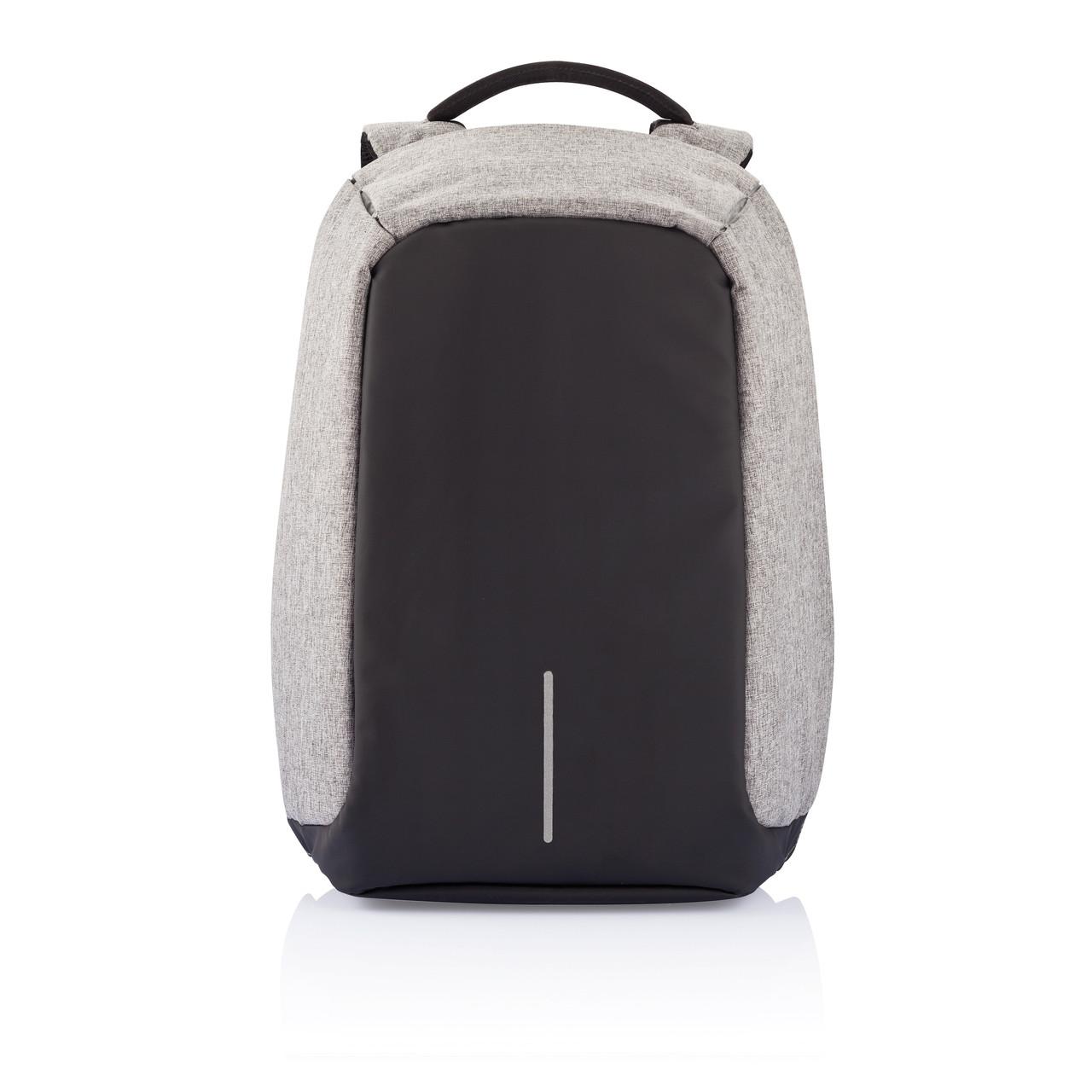 """Рюкзак """"Bobby""""/серый/защита от краж, фото 1"""