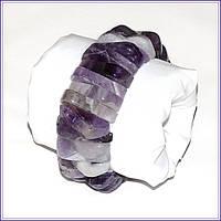 Оригинальный браслет из аметиста