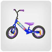 Велосипед двухколесный беговел розовый Extreme Balance Bike 12'' BB002 Blue