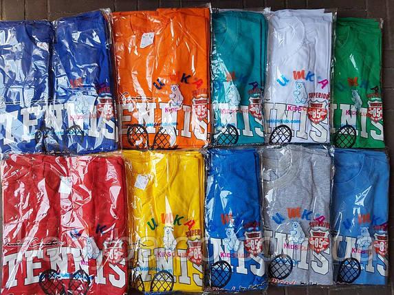 """Летняя футболка  для  мальчика """"Tennis""""(от 8 до 10 лет), фото 2"""