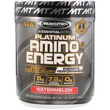 Muscletech Platimum Amino+Energy , 30 порций. ВСАА , аминокислоты.