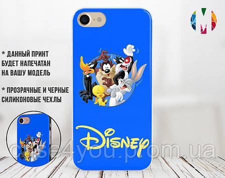 Силиконовый чехол для Apple Iphone 5_5s Disney friends (4002-3192), фото 2