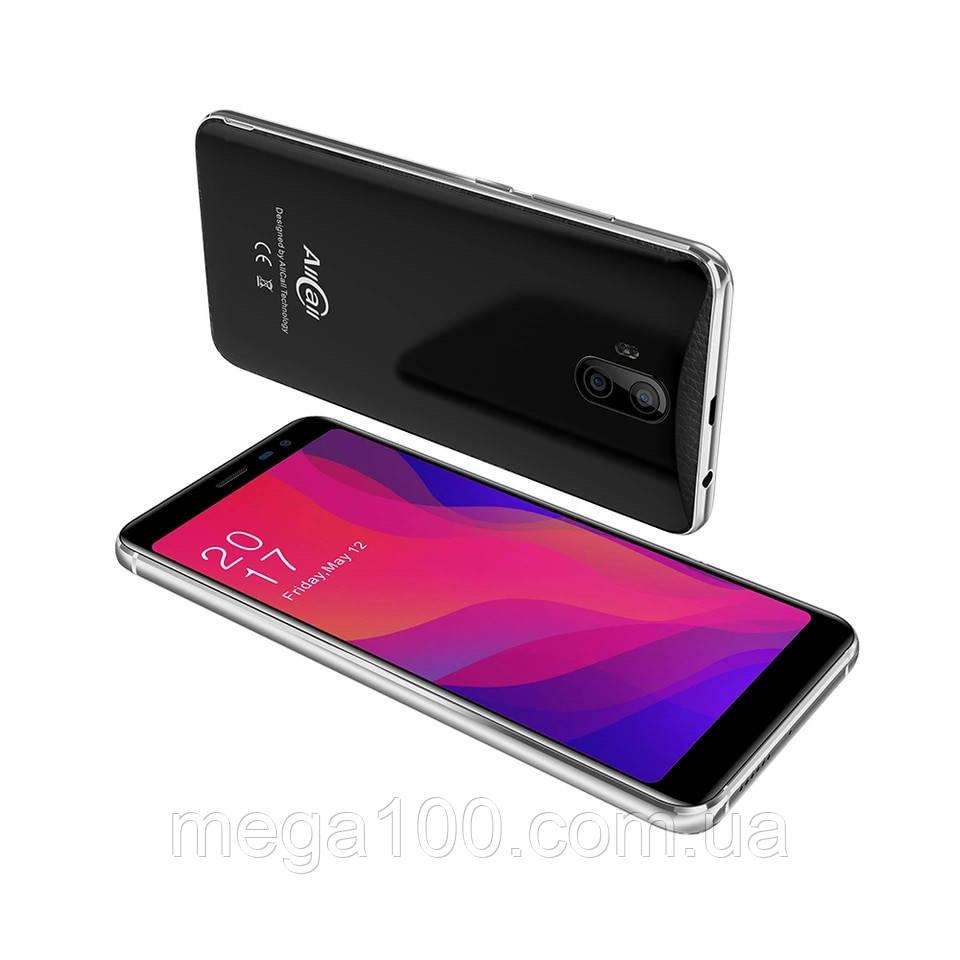 Смартфон Allcall RIO X чорний (екран 5,5 дюймів, пам'яті 1/8Gb, батарея 2850 mAh)