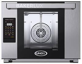 Печь пароконвекционная пекарская UNOX XEFT04HSELDP 460х330мм (Италия) без подкл к водопроводу-помпа