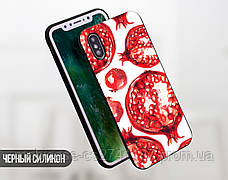 Силиконовый чехол для Apple Iphone 5_5s Гранаты (4002-3201), фото 2