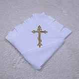 Крыжма для крестин Благодать (белая), фото 4