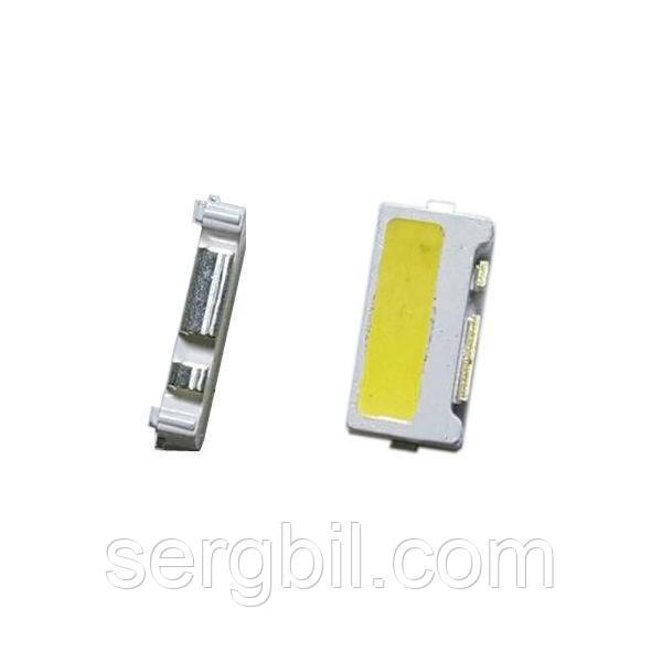 Світлодіод 1Вт 7032 Edge білий 6500К 90мА 9В