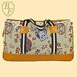 Женская дорожная сумка, саквояж с совами, фото 2
