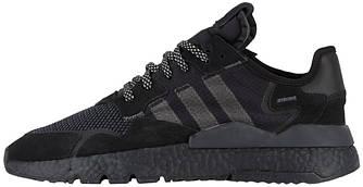 Мужскиекроссовки adidas Nite Jogger (Premium-class) черные