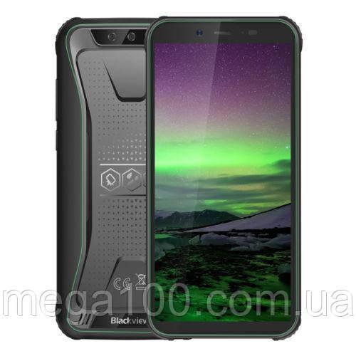 """Смартфон Blackview BV5500 зелений""""екран 5,5 дюймів, пам'яті 2/16, батарея 4400 мАч)"""
