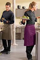 Передник для повара, официанта и бармена TEXSTYLE ниже колена без карманов