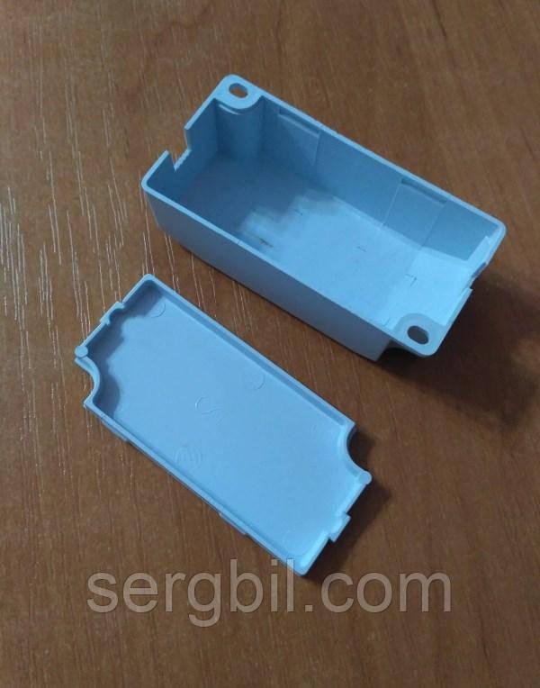 С003 корпус для LED драйвера 80 х 36 х 22мм пластик білий