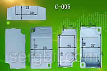 С005 корпус для LED драйвера 58 х 30 х 21мм пластик белый