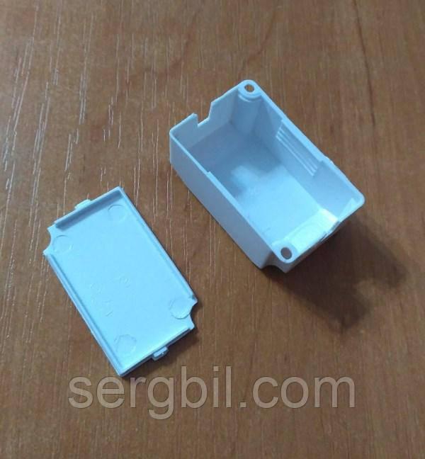 С007 корпус для LED драйвера 45 х 28 х 19мм пластик білий
