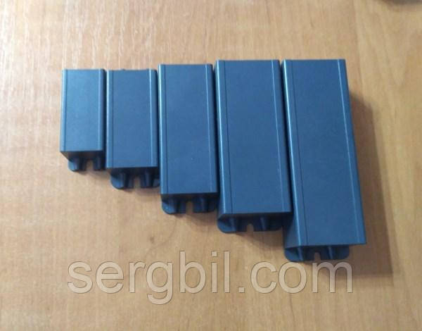 G007 корпус для LED драйвера 62 х 24 х 20мм пластик чорный