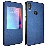 Чехол-книжка DK-Case силикон кожа для Xiaomi Redmi Note 7 Pro (blue)