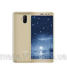 Смартфон Allcall RIO X золотой (экран 5,5 дюймов, памяти 1/8Gb, батарея 2850 mAh)