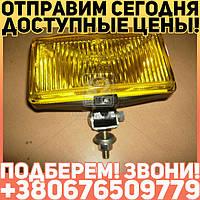 ⭐⭐⭐⭐⭐ Фара противотуманная желтая 12В (универсальная прямоугольный ) (производство  ОАО Автосвет) УНИВЕРСАЛ, 14.3743010(Б/Н3)