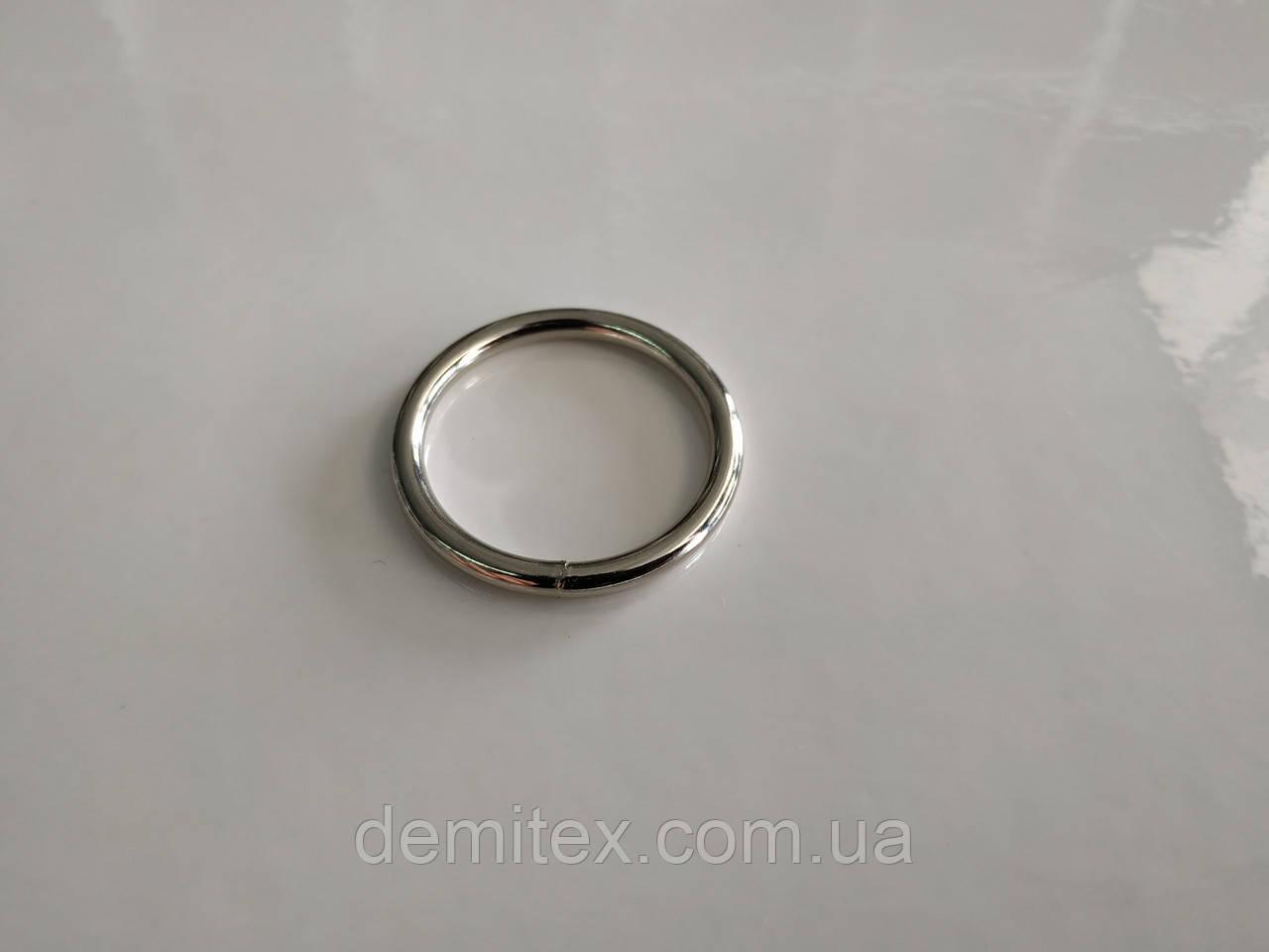 Кольцо сварное никель 25х3 мм
