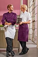 Передник для повара, официанта и бармена TEXSTYLE ниже колена без карманов, фото 1