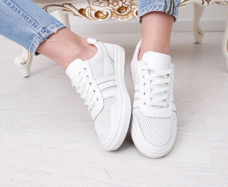 ca21499a Белые кроссовки женские - Интернет-магазин