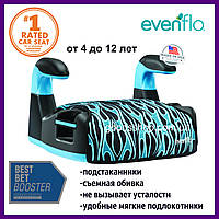 Автокрісла Evenflo детское автокресло сидения бустер Amp Flames группа 2/3 18 до 45 кг купить, фото 1