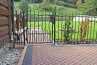 Ворота, забор ручная ковка