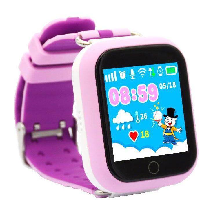 Детские смарт-часы Tina Q100 с GPS трекером и телефоном