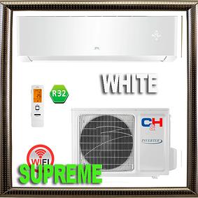 Серия Supreme WHITE Inverter серия   Cooper&Hunter кондиционеры