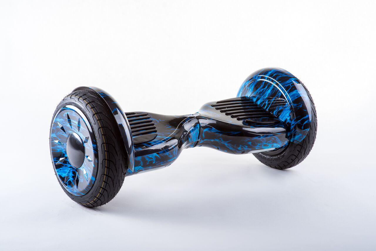 Гироборд Smart Balance Galant PRO 10,5 дюймов - Огонь синий