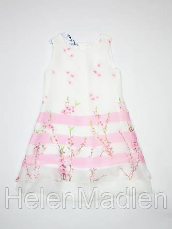 Платье и болеро Camilla бело-розовое Италия