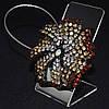 Декоративный магнит подхват для тюлей и штор № 49-101