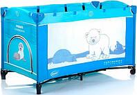 Оригинал. Детский манеж - кровать 4Baby Antarctica VEGAS CONTINENTAL