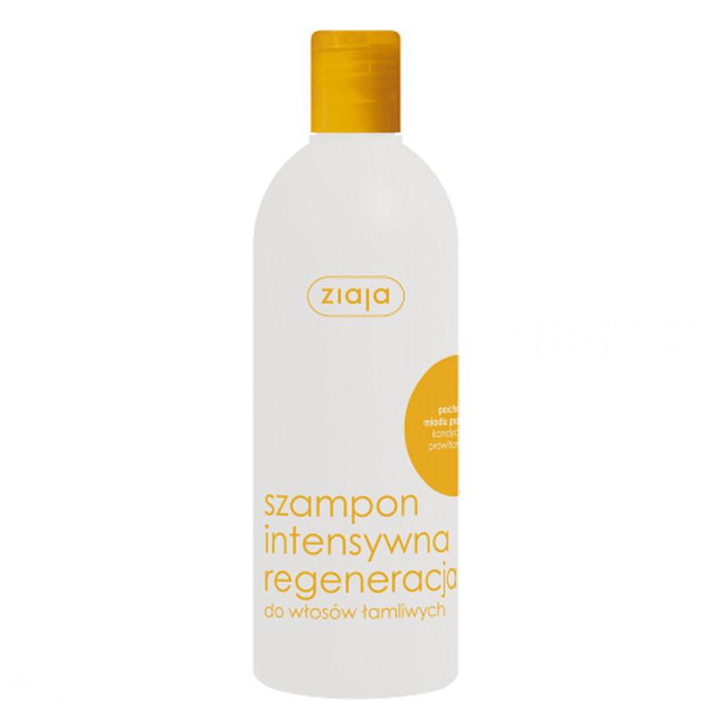 Шампунь интенсивная регенерация с экстрактом меда, 400 мл, Ziaja Intensive Regeneration Shampoo, Зая