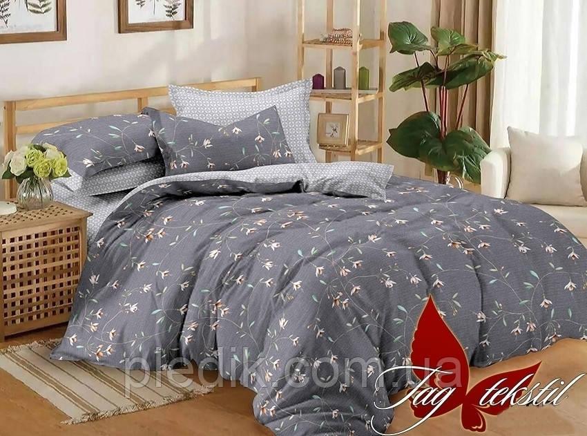 Комплект постельного белья сатин 180х220 TAG S295