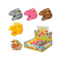 Мягкая антистрессовая игрушка Голова динозавра