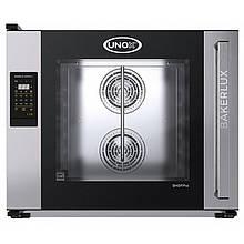 Печь пароконвекционная пекарская UNOX XEFT06EUELRV 600х400мм (Италия)