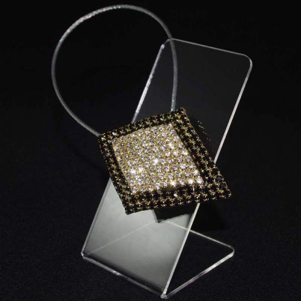 Декоративный магнит подхват для тюлей и штор № 51-120
