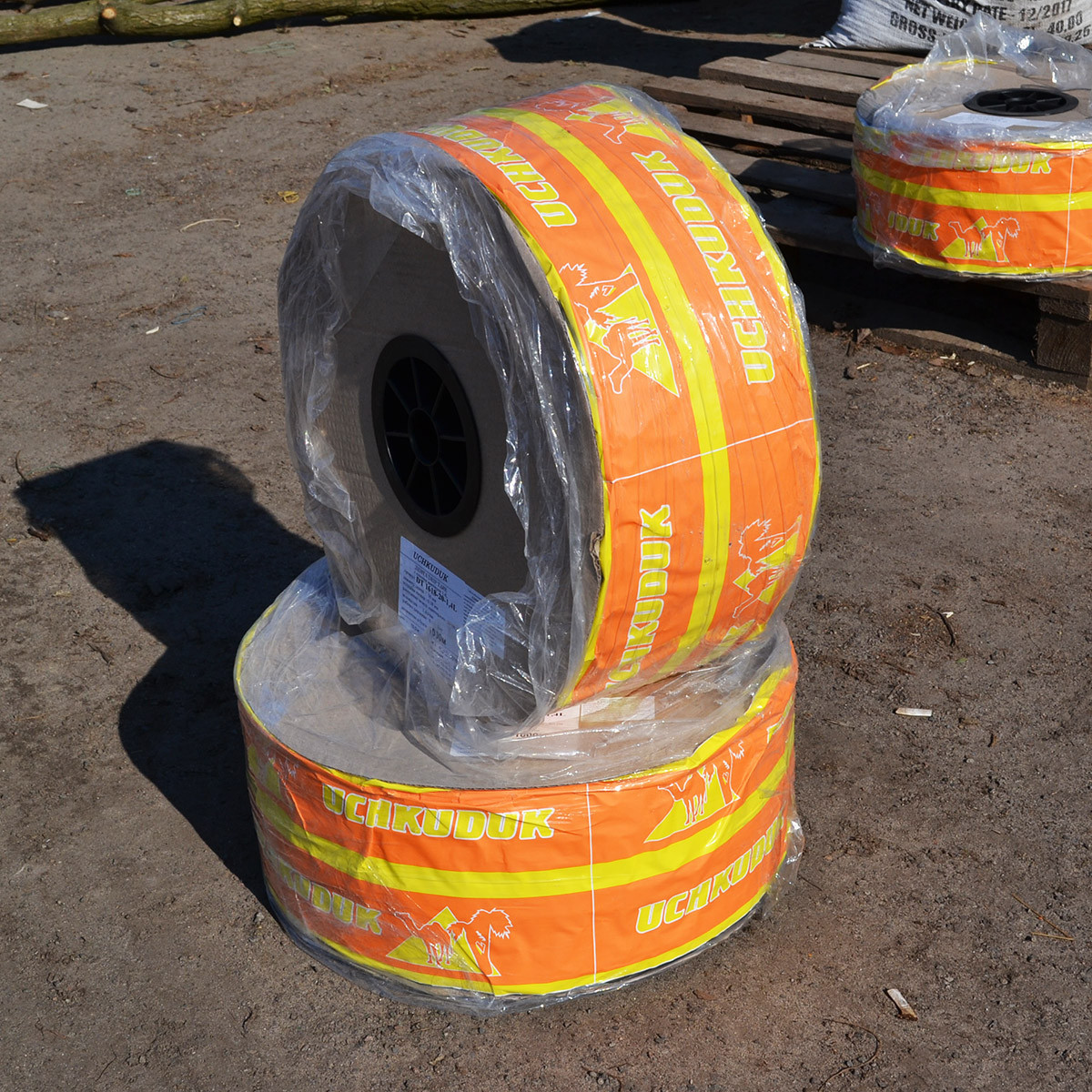 Капельная лента UCHKUDUK DRIP TAPE 7 mil 30 см - 1000 м