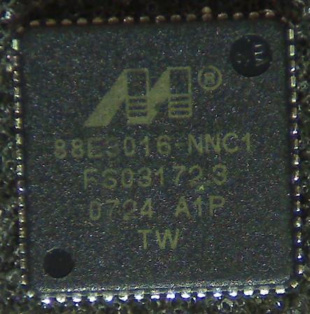 Микросхема 88e8016-nnc1, Marvell