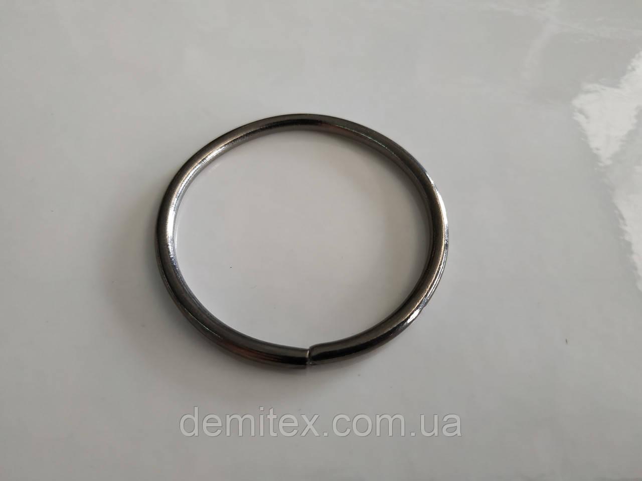 Кольцо черный никель 40х3мм