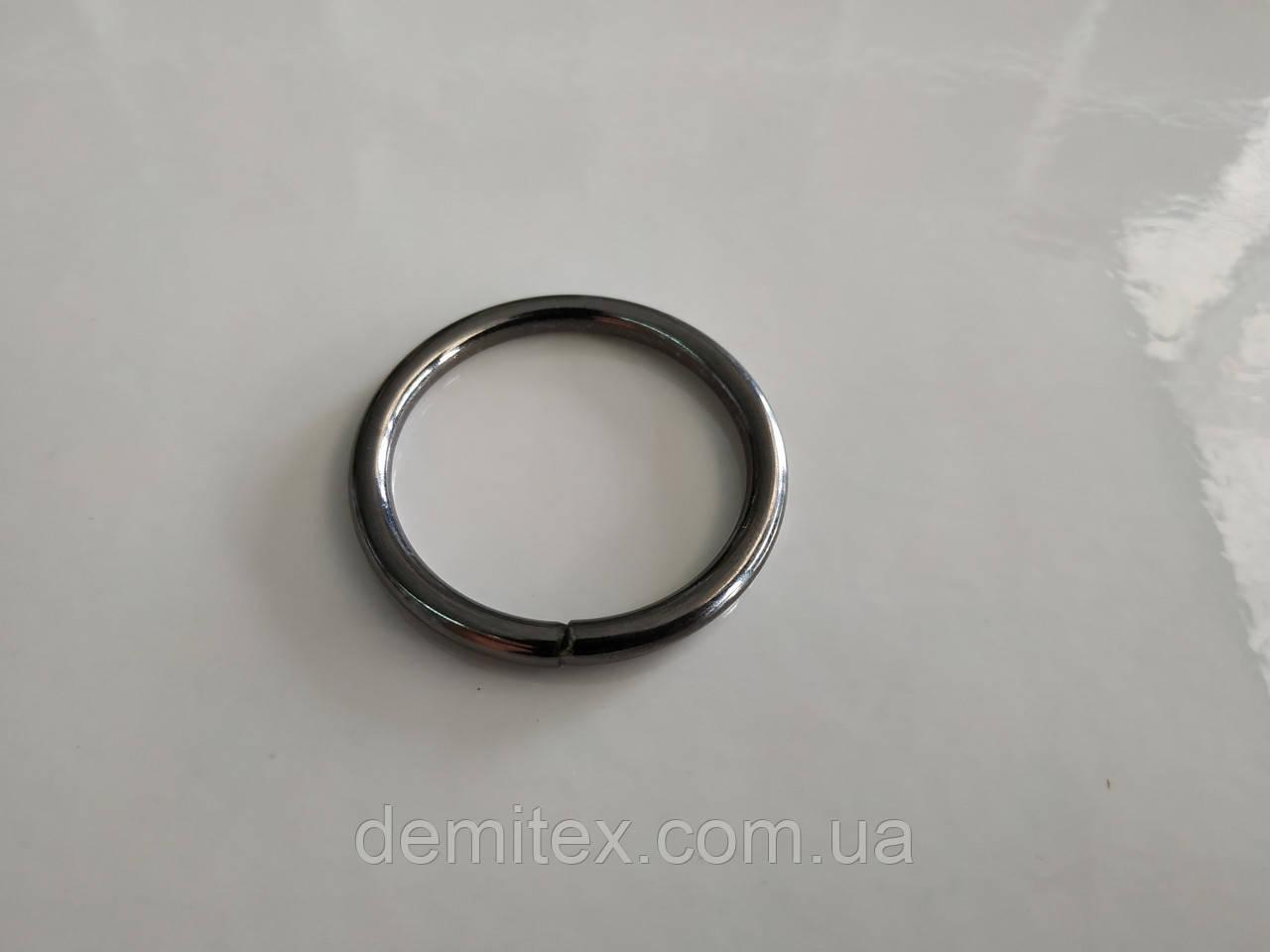 Кольцо черный никель 30х3.5мм